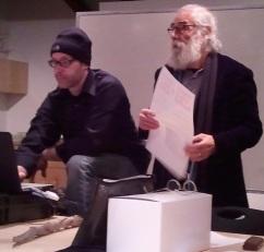 Professor Barry Sanders and I